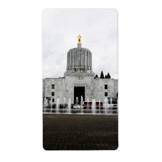Oregon Capitol Shipping Labels