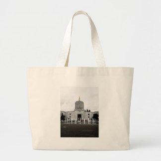 Oregon Capitol Large Tote Bag