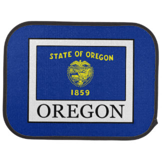 Oregon Car Floor Mat