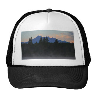 Oregon Cascades at Dawn Trucker Hat