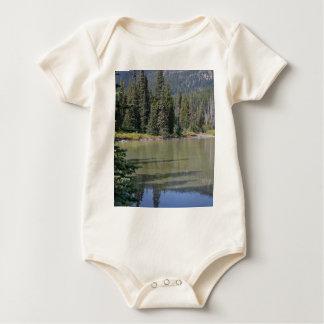 Oregon Cascades, Devils Lake Baby Bodysuit