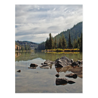 Oregon Cascades, Devils Lake Postcard