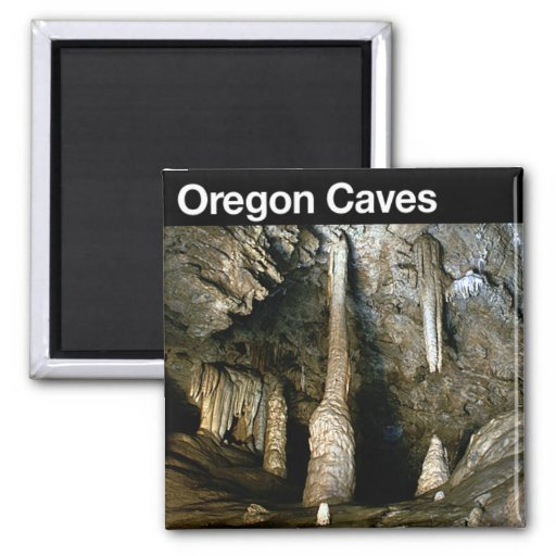 Oregon Caves National Monument 2 Inch Square Magnet