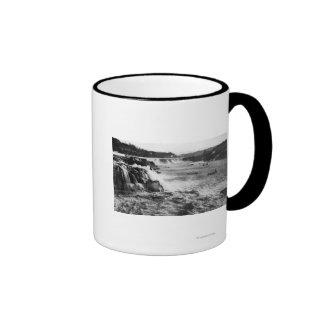Oregon City, OR Salmon Fishing on Willamette Coffee Mugs