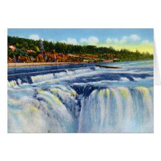 Oregon City Oregon Willamette Falls Card