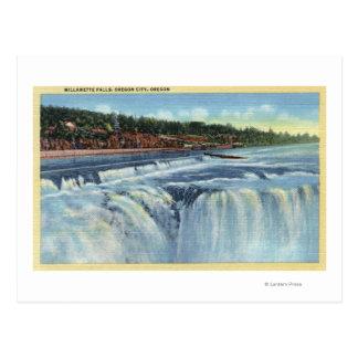 Oregon City, ORWillamette Falls ViewCity, OR Postcard