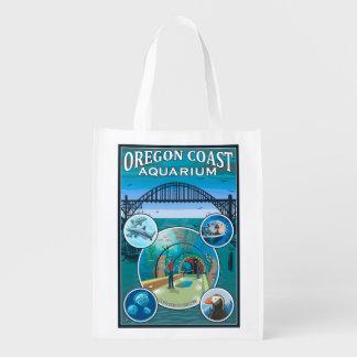 Oregon Coast Aquarium Reusable Grocery Bag