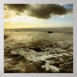 Oregon Coast at Low Tide Poster
