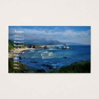 Oregon Coast business card