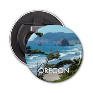 Oregon Coast Button Bottle Opener