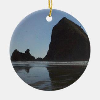 Oregon Coast Canon Beach Ceramic Ornament