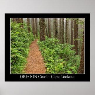 Oregon Coast - Cape Lookout Poster