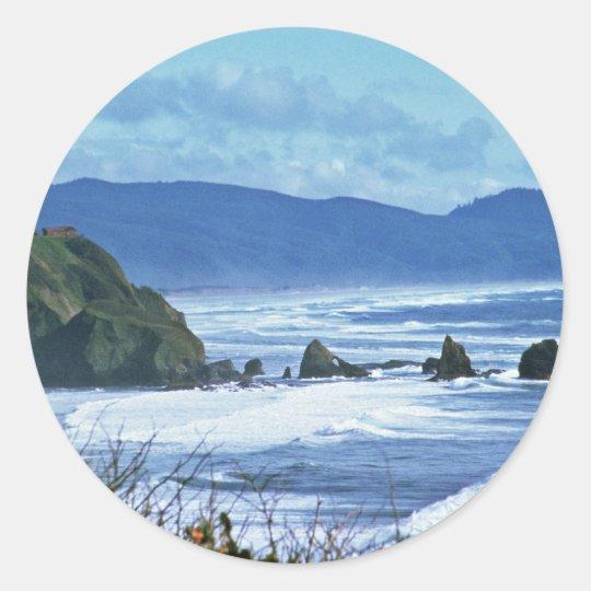 Oregon Coast Classic Round Sticker