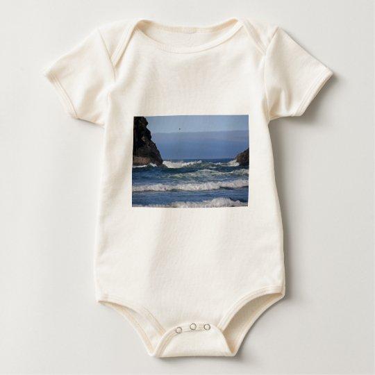 Oregon Coast in Summer Baby Bodysuit
