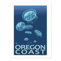 Oregon Coast Jellyfish Postcard