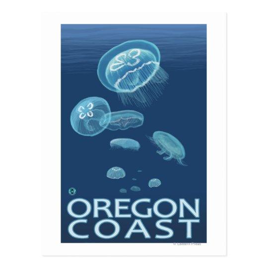 Oregon Coast Jellyfish Postcard