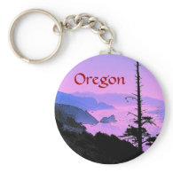 Oregon Coast Keychain