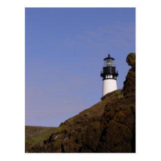 Oregon Coast Lighthouse Postcard