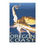 Oregon Coast Octopus Canvas Print