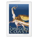Oregon Coast Octopus Card