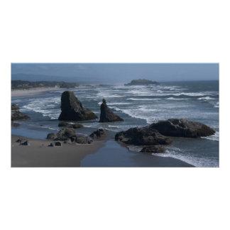 Oregon Coast Personalized Photo Card
