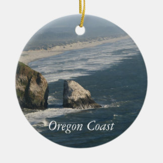 Oregon Coast Rocks Ceramic Ornament