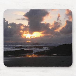 Oregon Coast Sunset Mouse Pad