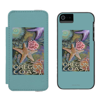Oregon Coast Tidepool Incipio Watson™ iPhone 5 Wallet Case