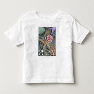 Oregon Coast Tidepool Shirts