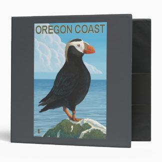 Oregon Coast Tufted Puffin Binder
