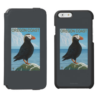 Oregon Coast Tufted Puffin iPhone 6/6s Wallet Case