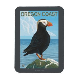 Oregon Coast Tufted Puffin Magnet