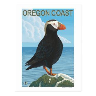 Oregon Coast Tufted Puffin Postcard