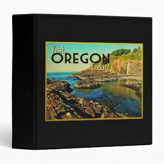Oregon Coast Vintage 3 Ring Binder