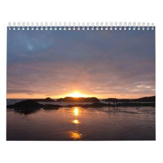 Oregon coast calendar