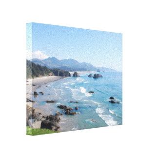 Oregon Coastal Viewpoint Canvas Print