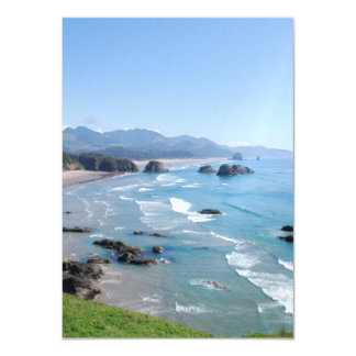 Oregon Coastal Viewpoint Card