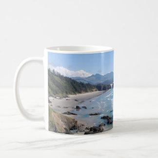 Oregon Coastal Viewpoint Coffee Mug