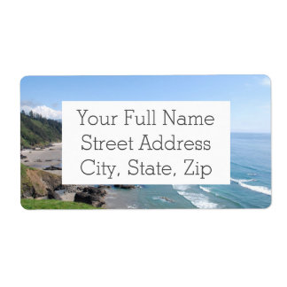 Oregon Coastal Viewpoint Label