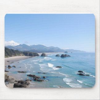 Oregon Coastal Viewpoint Mouse Pad