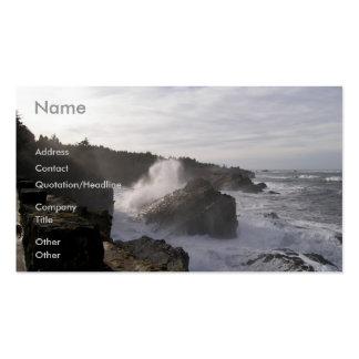 Oregon Coastline Business Card Templates
