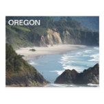 Oregon Coastline Postcard