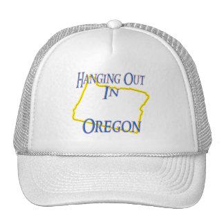 Oregon - colgando hacia fuera gorras