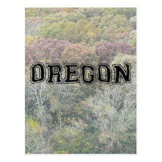 OREGON - College Distort - Mult Products Postcard