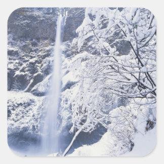 Oregon, Columbia Gorge National Scenics Area, Square Sticker