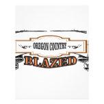 Oregon country blazed yeah! letterhead