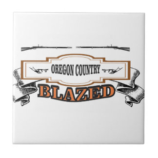 Oregon country blazed yeah! tile