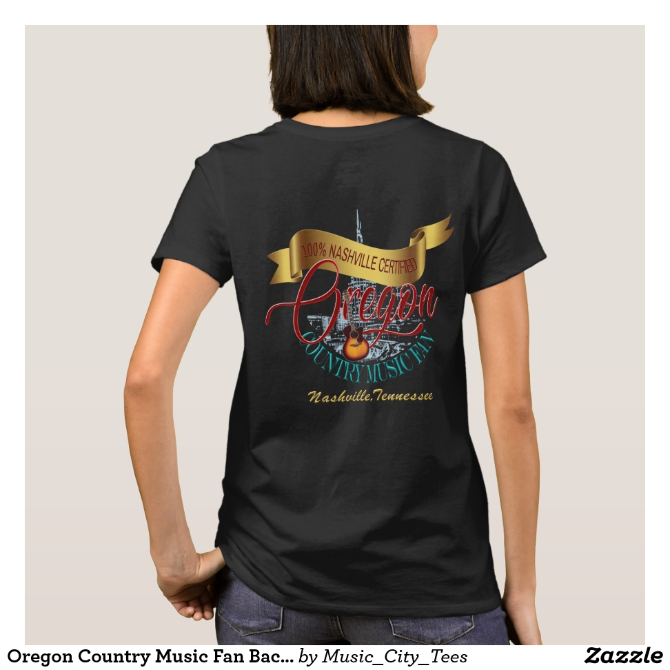 Oregon Country Music Fan Back Print Shirt - Best Selling Long-Sleeve Street Fashion Shirt Designs