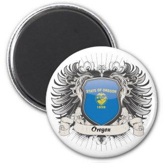 Oregon Crest 2 Inch Round Magnet