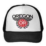 Oregon Crest Design Trucker Hats
